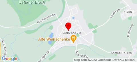 Google Map für Ferienwohnung Ferienwohnungen Düsseldorf