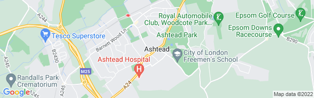 Map Of Ashtead