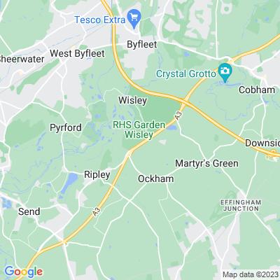 Wisley Gardens Location
