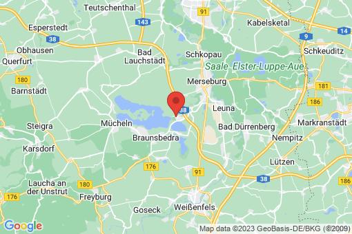 Karte Frankleben