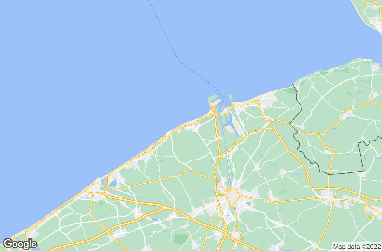 Google Map of بلانكينبرغ