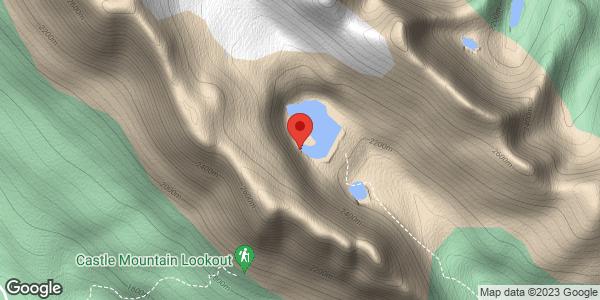 Rockbound lake/chockstone coulour