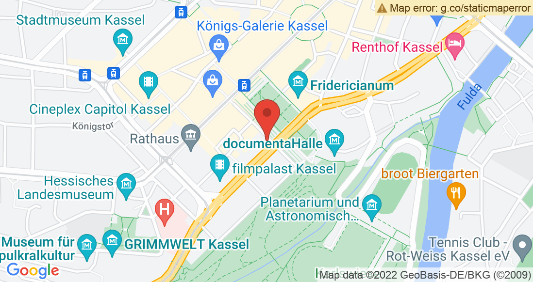 Google Map Laufladen Kassel