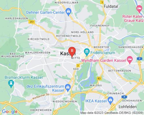 Google Karte von Rohrreinigung Kassel