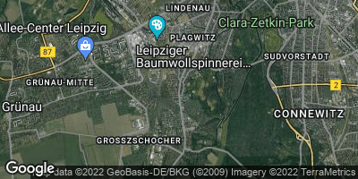 Google Map of Kleinzschocher