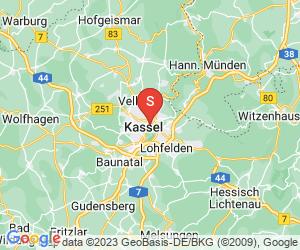Karte für Spielbank Kassel