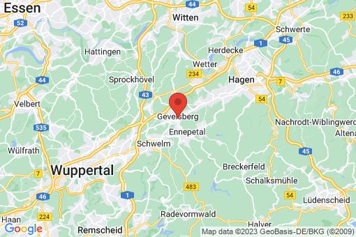 Karte Gevelsberg