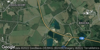 Google Map of Althen-Kleinpösna
