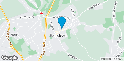 Map of 77 High Street in Banstead