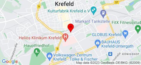 Google Map für 25 Monteur- und Ferienwohnungen, Appartements