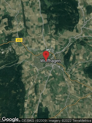 Google Map of Wolfhagen