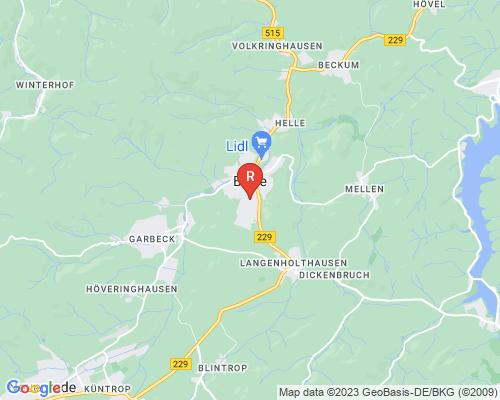 Google Karte von Rohrreinigung Balve
