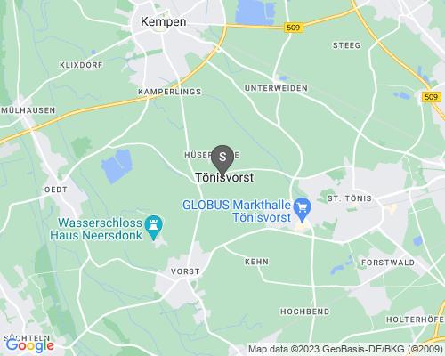 Google Karte von Schlüsseldienst Tönisvorst