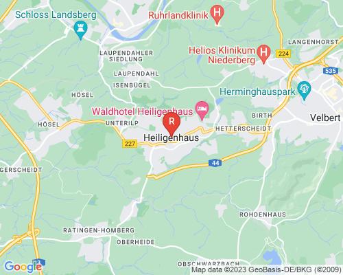 Google Karte von Rohrreinigung Heiligenhaus