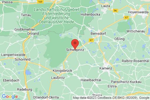 Karte Schwepnitz