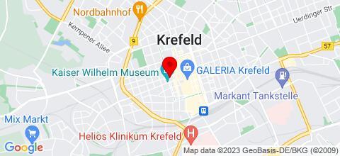 Google Map für Stay Here ND Apartements