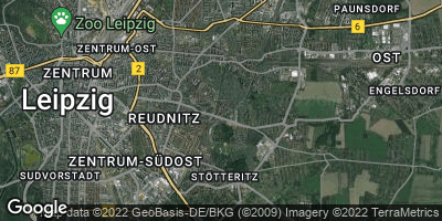Google Map of Anger-Crottendorf