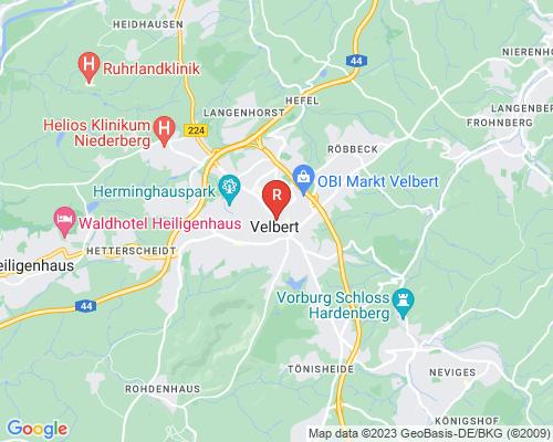 Google Karte von Rohrreinigung Velbert