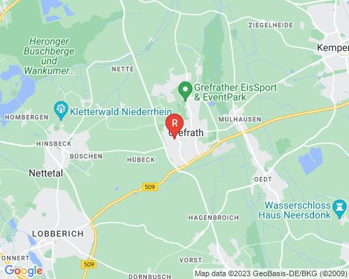 Google Karte von Rohrreinigung Grefrath