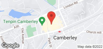 Halfords Camberley location