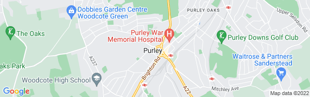 Map Of Purley