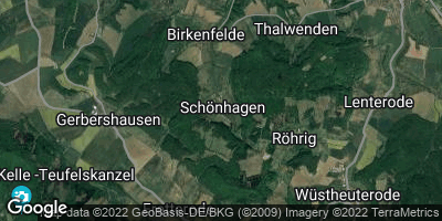 Google Map of Schönhagen