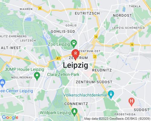 Google Karte von Rohrreinigung Leipzig