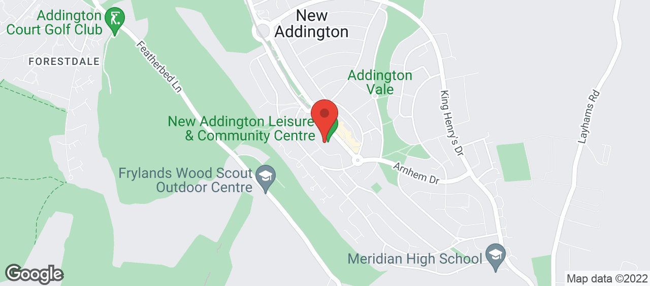 New Addington Leisure & Community Centre location and directions