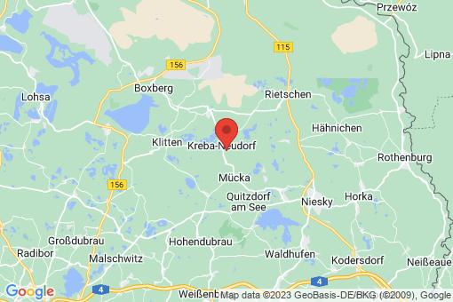Karte Kreba-Neudorf