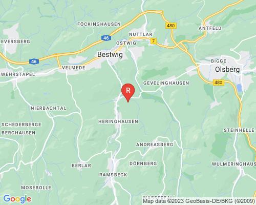 Google Karte von Rohrreinigung Bestwig