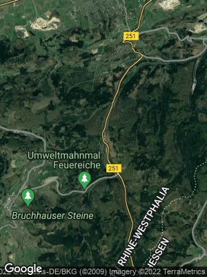 Google Map of Brilon-Wald