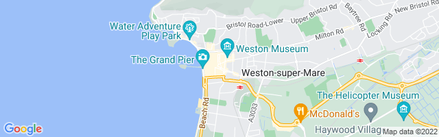 Map Of Weston-super-Mare