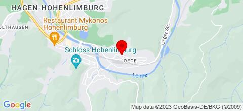 Google Map für Schöne Monteurwohnung am Fuße des Sauerlandes