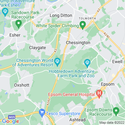 Winey Hill Location