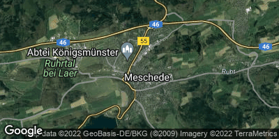 Google Map of Meschede