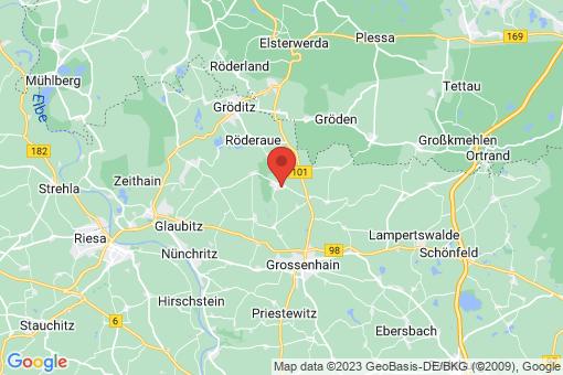 Karte Zabeltitz