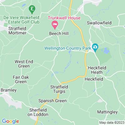 Stratfield Saye Park Location