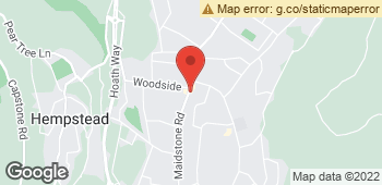 Map of Wigmore Florist at 375 Maidstone Road, Gillingham, Kent ME8 0HX