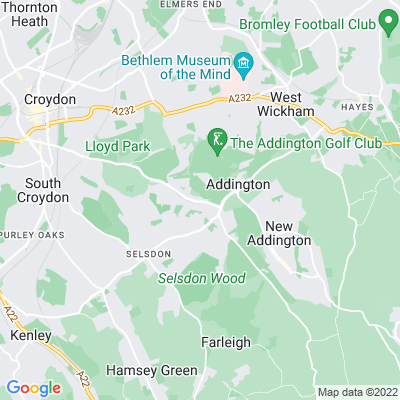 Addington Palace Location