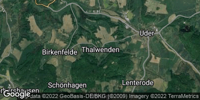 Google Map of Thalwenden