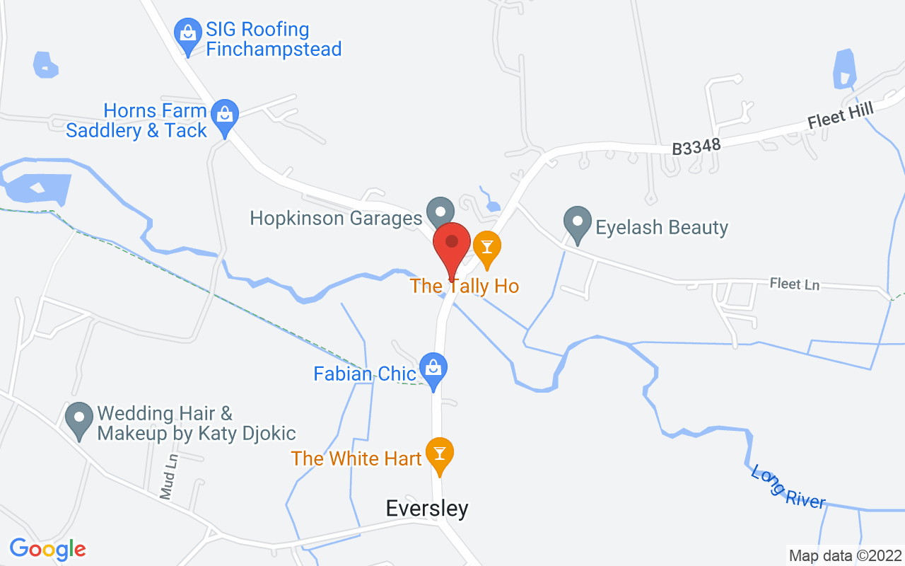 Google map of Eversley Office