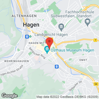 Map of Sidestep Hagen at Mittelstr. 26, Hagen,  58095