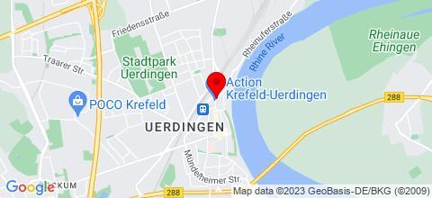 Google Map für Zimmer frei in der Pension Rörtgen