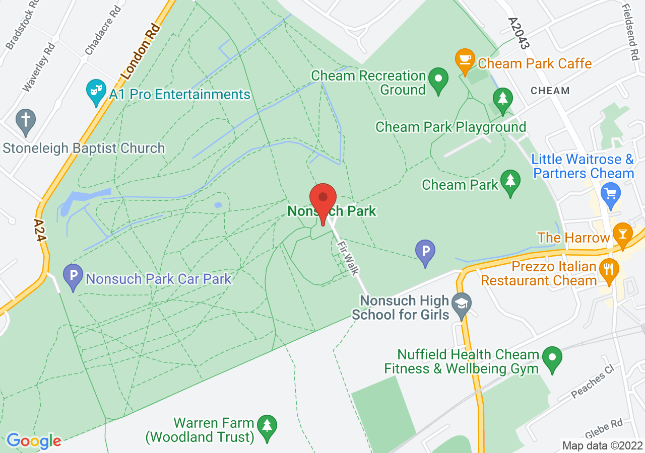 The location of Nonsuch Mansion