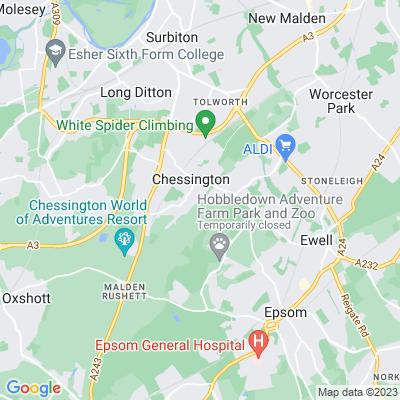 Castle Hill Local Nature Reserve Location