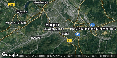 Google Map of Hagen