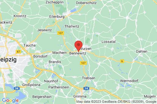Karte Bennewitz
