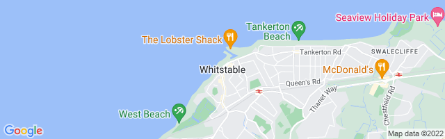 Map Of Whitstable