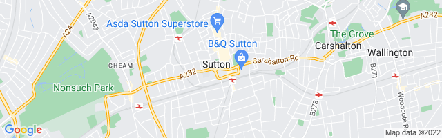 Map Of Sutton