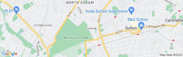 Map Of Cheam